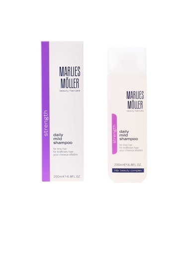 Marlies Möller Cleansıng Daıly Mıld Shampoo 200 Ml Renksiz